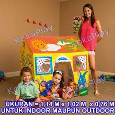 Bestway Playhouse Tent for Kids Big Size Mainan Tenda Rumah Indoor Outdoor Anak Cerah Kuning