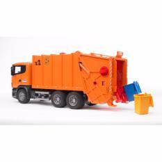 Bruder Toys 3560 - Scania R-Series Garbage Truck - Orange