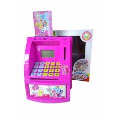 Celengan ATM Pony Bahasa Indonesia