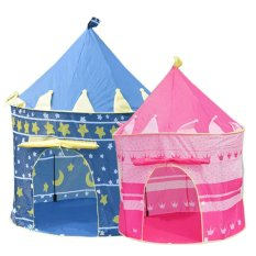 Children Castle Indoor Outdoor Play Tent (Blue) - Intl