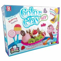 Color Clay DIY ice Cream Set Educational Toy