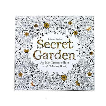 Coloring Painting Book Secret Garden Kid Dewasa Anti Stres Buku Intl