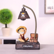 Creative Japanese One Piece Luffy Joba Cartoon Anime Office Home Desk Decoration Crafts Figurines Miniatures Gift For Children's 10*7*16cm - intl