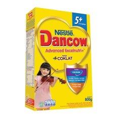Dancow Excelnutri 5+ Usia 5-12 tahun - Coklat - 800gr