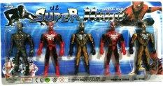Daymart Toys Action Figure Superhero Spiderman-Red