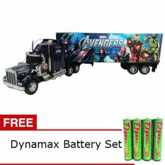 Daymart Toys Remote Control Trailer Truck Avengers