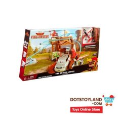 Disney Planes Fire & Rescue Fire At Fusel Lodge Track Set Incl Dusty