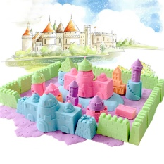 DIY Children Kids 100g Magic Colorful Sand Handmade Plasticine Non Toxic Toys - intl