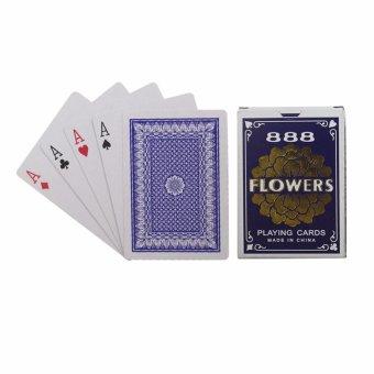 EELIC PLC-POKER BIRU Playing Card Permainan Kartu POKER