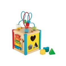 ELC Wooden Activity Cube