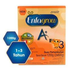 Enfagrow A+3 Susu Pertumbuhan - Vanila - 1200 gr Box