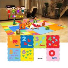 Evamat - Angka / Matras / Tikar / Karpet / Puzzle Alas Lantai Evamat