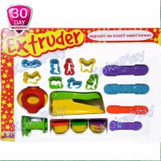 Fun Doh Extruder Candle Play Doh Mainan Lak Lilin Tanah Liat Play Set Seri Extruder