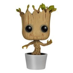 Funko POP Marvel Guardians Of The Galaxy Pot Dancing Groot - Cokelat