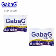 Gabag Ice Gel 500 Ml - 2 Pack