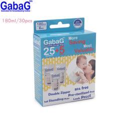 Gabag Kantong Asi Bpa Free 180 Ml Isi 30 Pcs - 1 Pack
