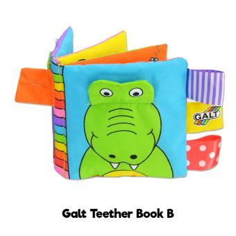 Galt Soft Teether Book   Buku Bantal Gigitan Bayi - Mainan Bayi - Kode B 21d4d4515e