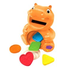 Hasbro Playskool Learnimals Color Me Hungry Hippo - Oranye