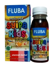 HIU Madu Syifa kids Fluba - syifakid Untuk FLU dan Batuk
