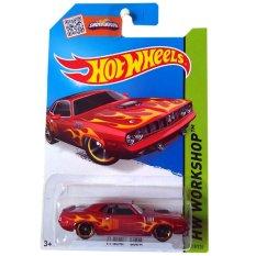 Hot Wheels '71 Hemi Cuda - Merah