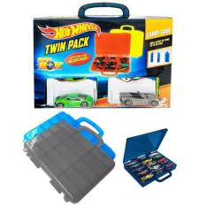 Hot Wheels MAO Twin Pack Carry Case Bonus 3 Kendaraan Exclusive
