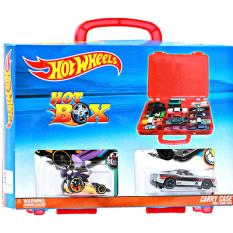 Hotwheels Mao Hotbox Carry Case Bonus 2 Kendaraan Exclusive