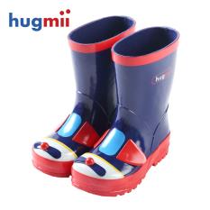 Hugmii kartun anak laki-laki dan perempuan anak-anak hujan sepatu Air sepatu anak