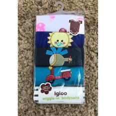 Igloo Jumper 5 in 1 Lengan Pendek Boys / Baju Bayi Cowok Umur 9 Bulan - 1 Pack 5 Pcs