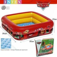 Intex 57101 Kolam Renang anak Motif Cars / Bak mandi anak Car / Kolam Renang