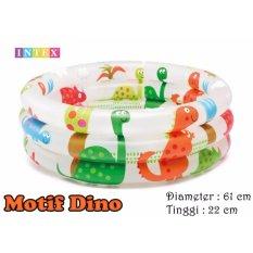Intex 57106 Kolam Renang Anak uk 61 x 22 cm Motif Dino