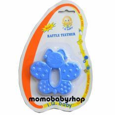 IQ Baby Rattle Teether 3 Months BPA Free - Mainan Gigitan Bayi