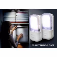 Lucky - Lampu Lemari LED Sensor Otomatis - 2 Pcs