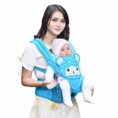Jelova Angela Gendongan Depan Baby Bayi HIPSEAT JOY Special edition - SNI Standart - BLUE