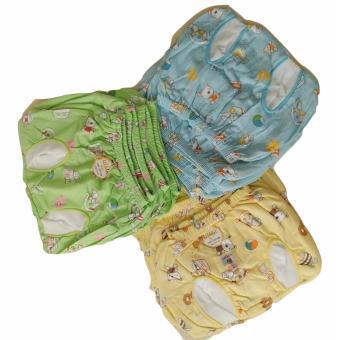 Jelova Baby Angela Selusin 12pcs Celana POP Baby Bayi Usagi Print Animal Mix Warna