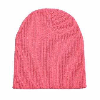 Jiayiqi Girls & Boys Knit Baby Hats Beanie Candy Color ToddlerChildren Hat - intl