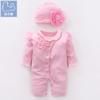 Kapas Bayi Bayi Perempuan Siam Hari Mendaki Pakaian Romper