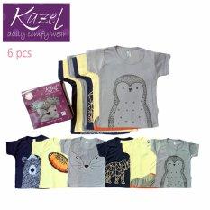 Kazel Tshirt Penguin Edition isi 6 pcs - M