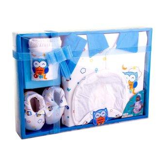 Kiddy Baby Gift Set Owl Biru 11150 - Set Pakaian Bayi