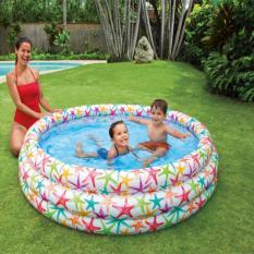 Kolam Renang Intex Smiling Fish & Friends Pool-56440NP-White