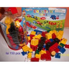 Lego Block Creative Toys isi 150 pcs Mainan Edukatif