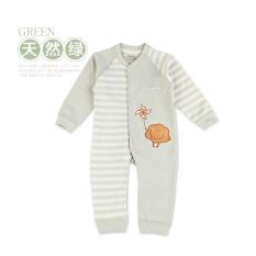 Lengan panjang musim gugur bayi dan anak-anak yang baru lahir murni warna panjat pakaian