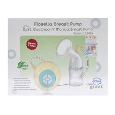 Little Giant Mosella Breast Pump 2 in 1 Electric 'N Manual