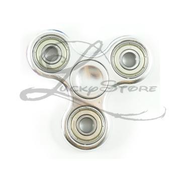 Steel Source · Metalic Source Lucky Fidget Spinner Hand Spinner CHROME KILAT Hand .