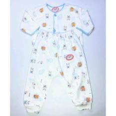 Luvita Baju Bayi Lengan Panjang & Celana Panjang Motif ( M-L ) - 1set