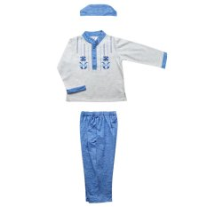 MacBear - Baju Anak - Koko Asad Set