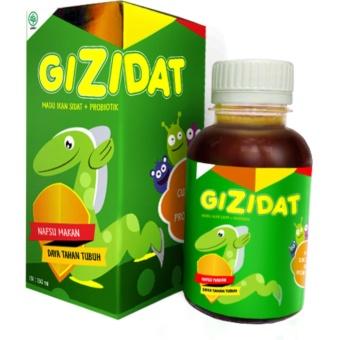 Madu Ikan Sidat + Probiotik GIZIDAT - 130 ml