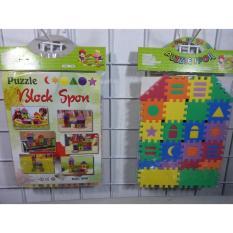 Mainan EDUKASI Anak Cerdas Puzzle Spon