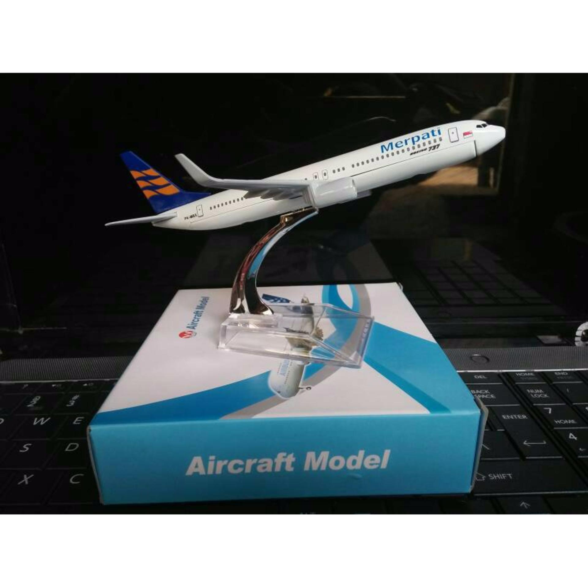 Mainan Koleksi Miniatur Pesawat Merpati .