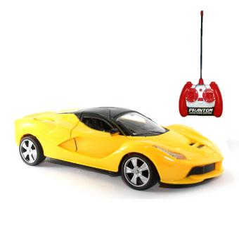 Mainan Remote Control Ferrari Supercar - Yellow