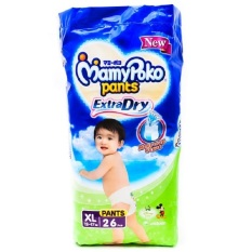 MamyPoko Pants Extra Dry NEW - XL26